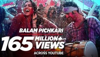 Balam Pichkari Lyrics - Yeh Jawaani Hai Deewani | Ranbir Kapoor, Deepika Padukone, Shalmali Kholgade, Vishal Dadlani