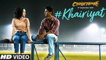 Khairiyat Lyrics - Chhichhore | Arijit Singh, Sushant Singh Rajput, Shraddha Kapoor