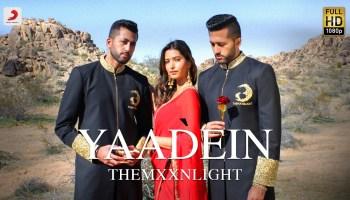 Yaadein Lyrics - THEMXXNLIGHT | Manasvi Mamgai