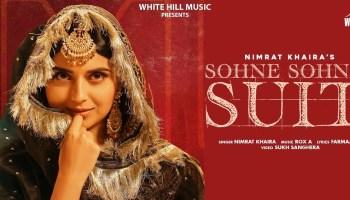 Sohne Sohne Suit Lyrics - Nimrat Khaira | Harj Nagra