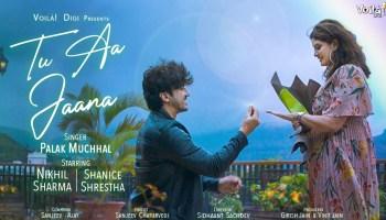 Tu Aa Jaana Lyrics - Palak Muchhal | Nikhil Sharma, Shanice Shrestha