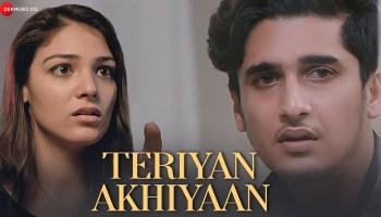 Teriyan Akhiyaan Lyrics - Arun Solanki | Bhavin Bhanushali, Neha Rana