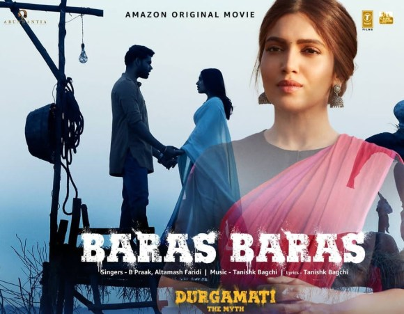 Baras Baras Lyrics - B Praak - Durgamati