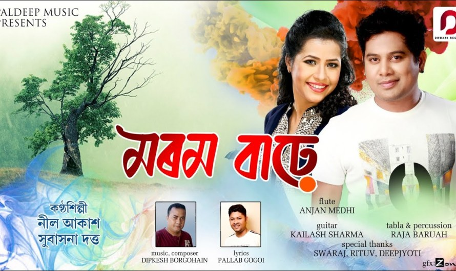 Neel Akash & Subasana Dutta  | Morom barhe lyrics Assamese lyrics song