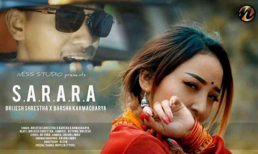 Brijesh Shrestha | sarara lyrics | Barsha Karmacharya