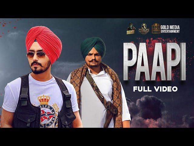 Paapi lyrics Sidhu Moosewala   | Latest Punjabi Songs 2020