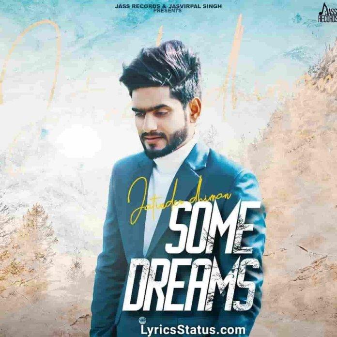Jatinder Dhiman Some Dreams Lyrics Status Download Punjabi Song Na Enni Chheti Lang Umre Kuj Khaab Adhoore Mere Ne Black Background Status