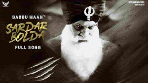 Babbu Maan Sardar Bolda Lyrics Status Download Kandha Kabal kdhar diayn kambdiya Jdo sardar bolda WhatsApp status video download black