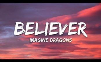 Believer Lyrics - Imagine Dragons