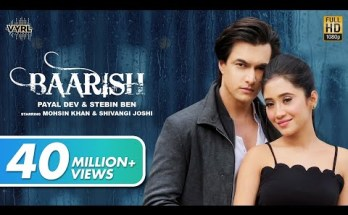 Baarish Lyrics - Payal Dev, Stebin Ben
