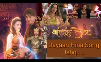 Dayaan Hina Song Ishq Lyrics - Alif Laila Remake Serial 2020