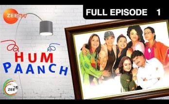 Hum Paanch Title Song Lyrics - Zee TV (1995)