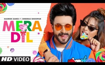 Mera Dil Lyrics - Mairien James Ft Dheeraj Dhoopar