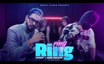 RING RING Lyrics - EMIWAY Ft. MEME MACHINE