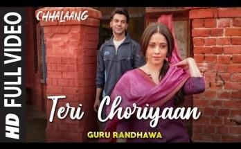 Teri Choriyaan Lyrics - Chhalaang