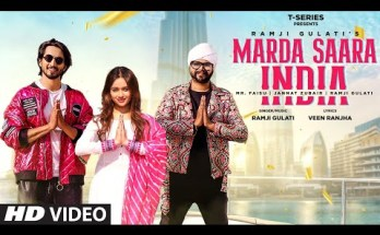 Marda Saara India Lyrics - Ramji Gulati Ft. Mr. Faisu