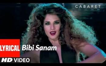 Bibi Sanam Lyrics - Usha Uthup | CABARET