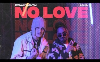 No Love Lyrics - Emiway Bantai x Loka