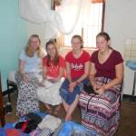 Fabi, Sarah, Anna und Miri