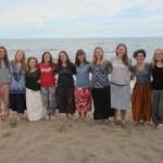 Gruppenbild an Silvester am Matema Beach