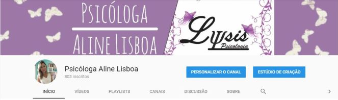Canal Psicologia Youtube