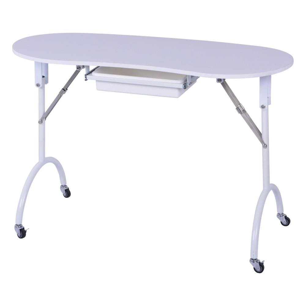table manucure pliante sur roulette lysor liane grossiste esthetique produits et materiel de beaute