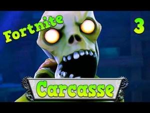 fortnite gameplay, carcasse et loot
