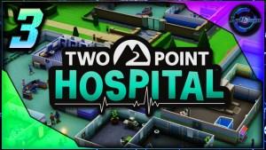 Two Point Hospital et les patients qui se prennent pour des Stars !