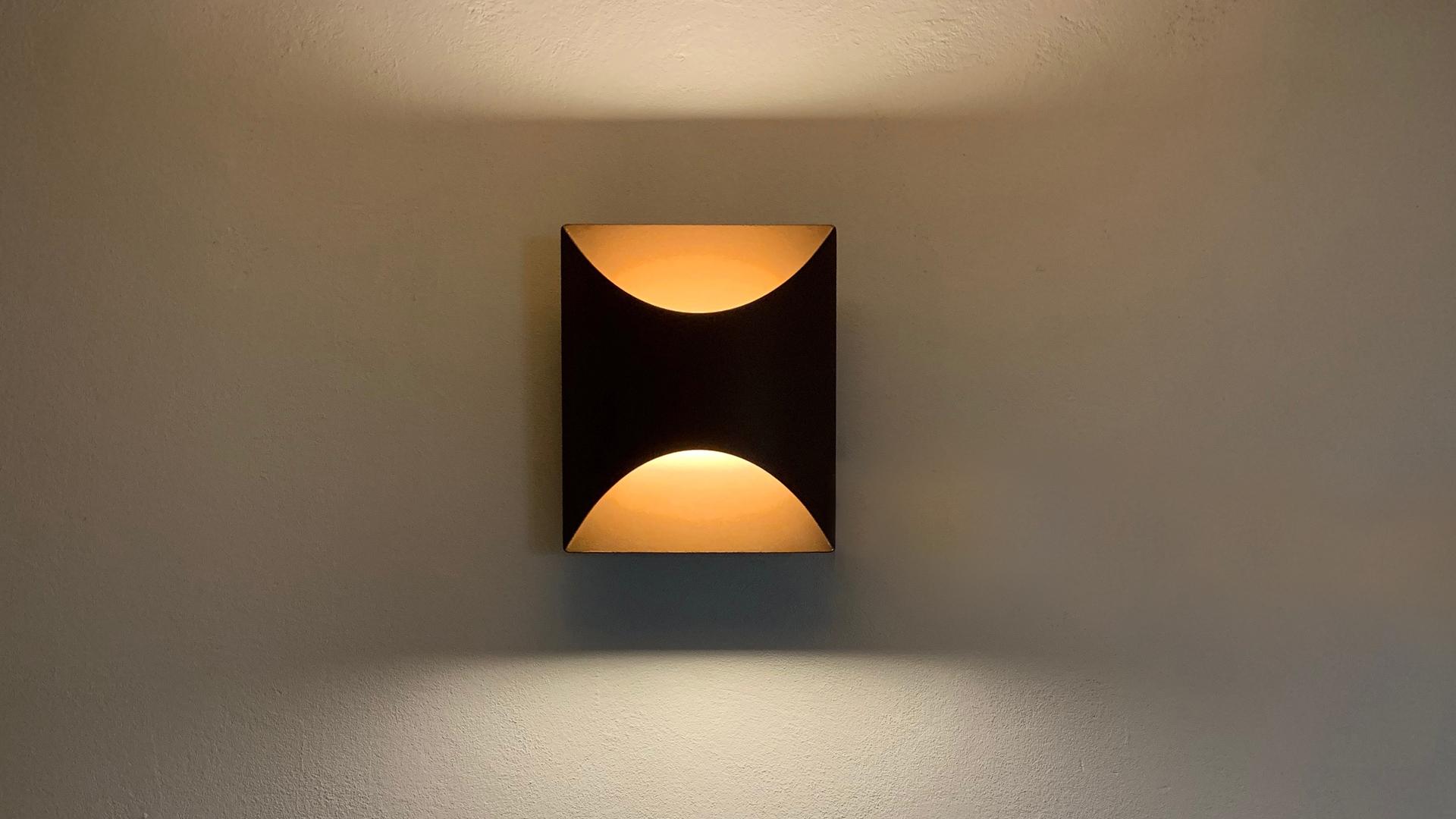 Applique extérieure en acier rouille Corten - Lampe murale à LED basse consommation