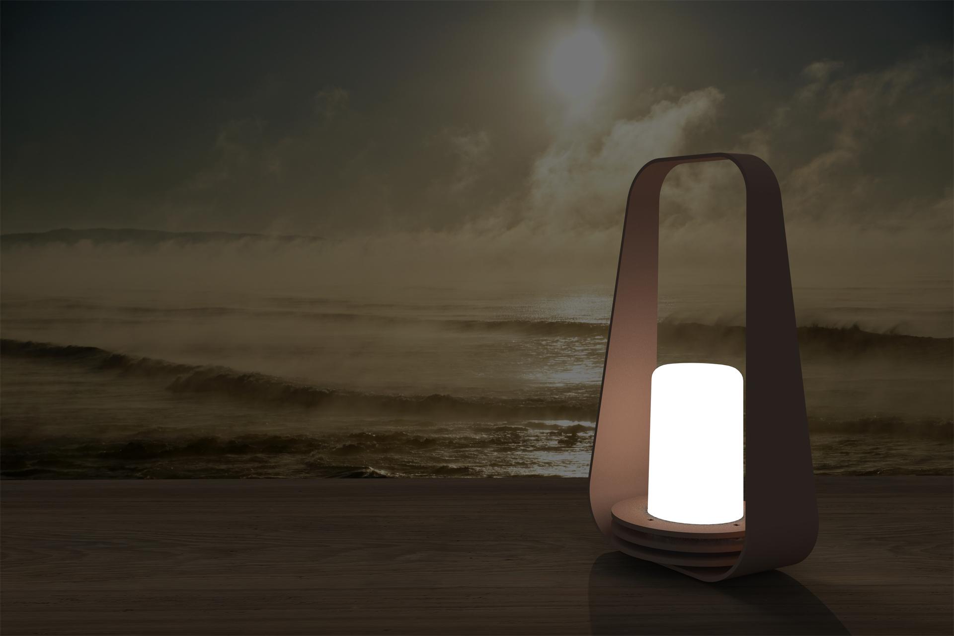 lampe autonome - lampe de table - boucle 01