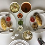 Breakfast from The Whitefield Arms at VR Bengaluru