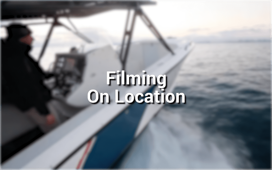 Filming On Location