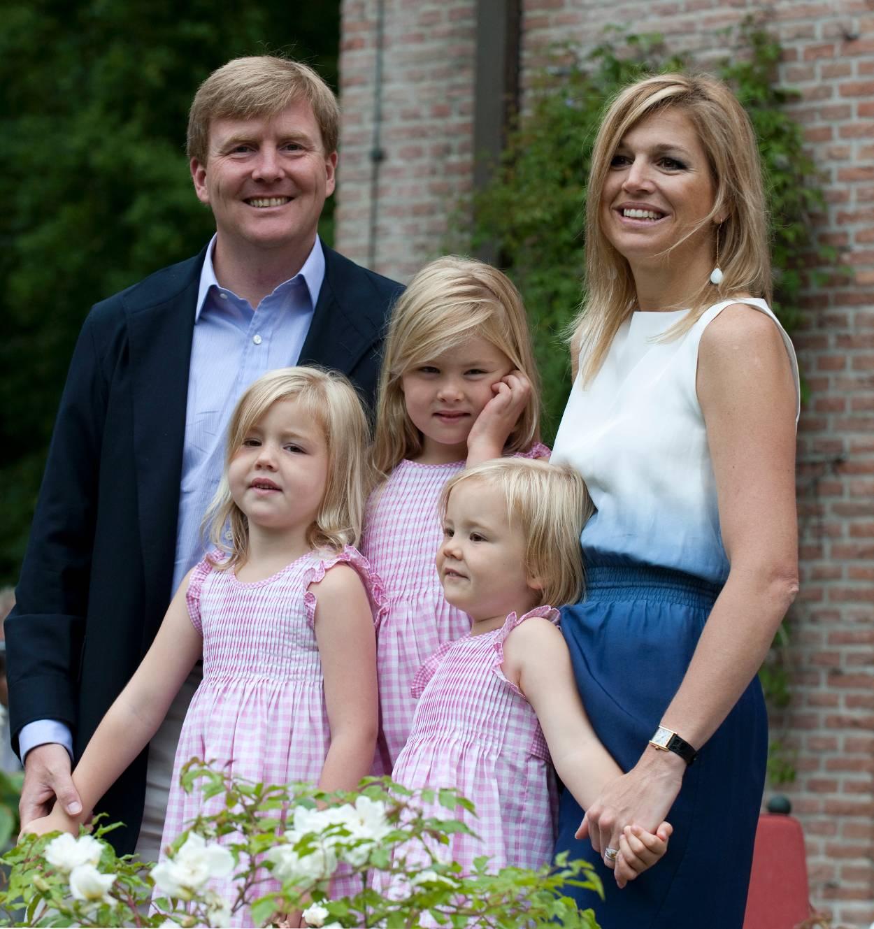 أجمل صور العائلة الملكية الهولندية.