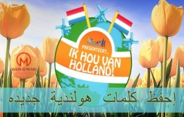 إختبار 8 : إحفظ كلمات هولندية جديده
