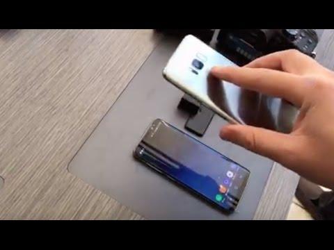 يبدو أن اختراق هاتف Galaxy S8 سيكون أسهل من المتوقع