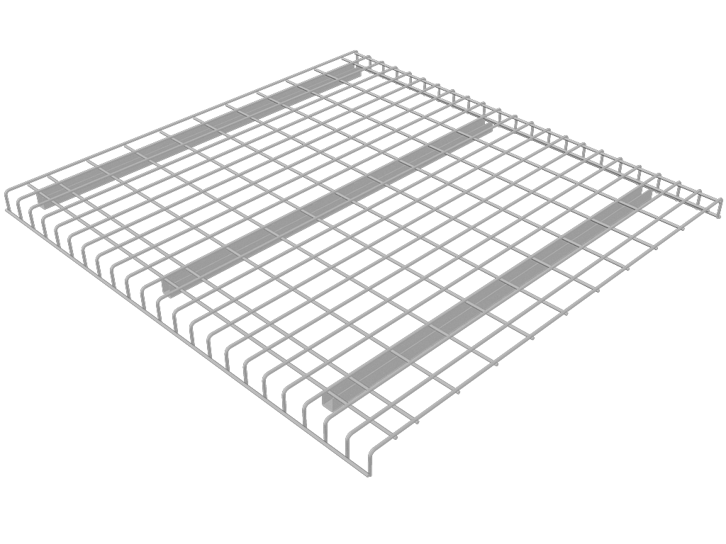 Wire Decking 36 Deep Waterfall 3 Channel Step