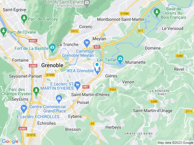 Ikea à Grenoble Saint Martin Dhères Isère Horaires