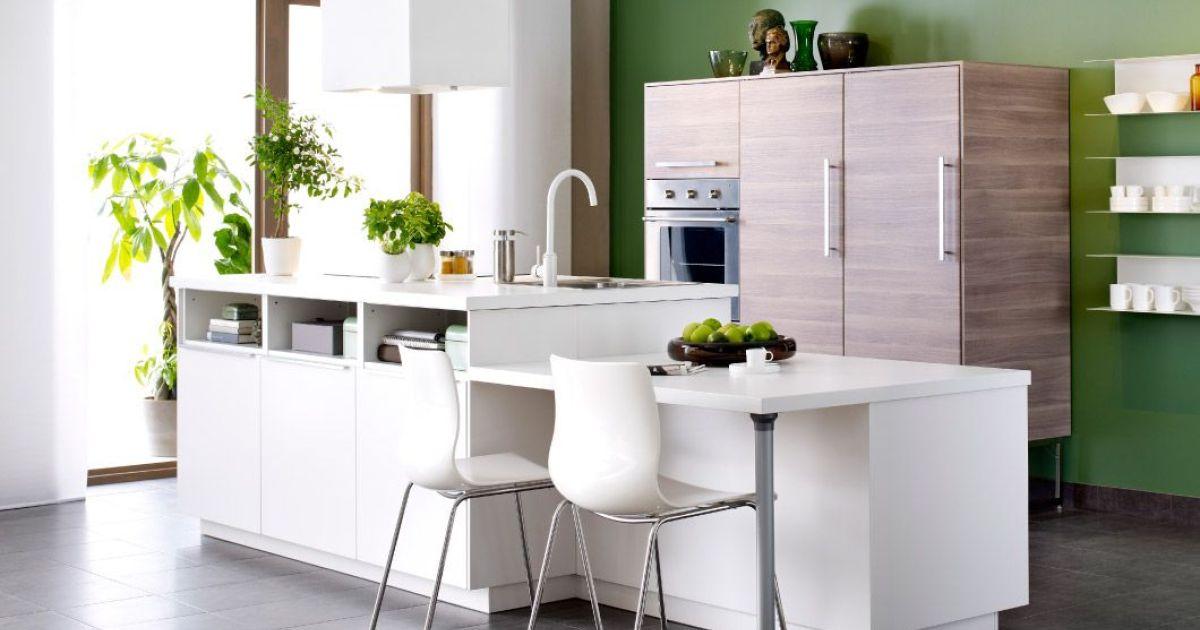 Cuisine Avec Ilot Par Ikea