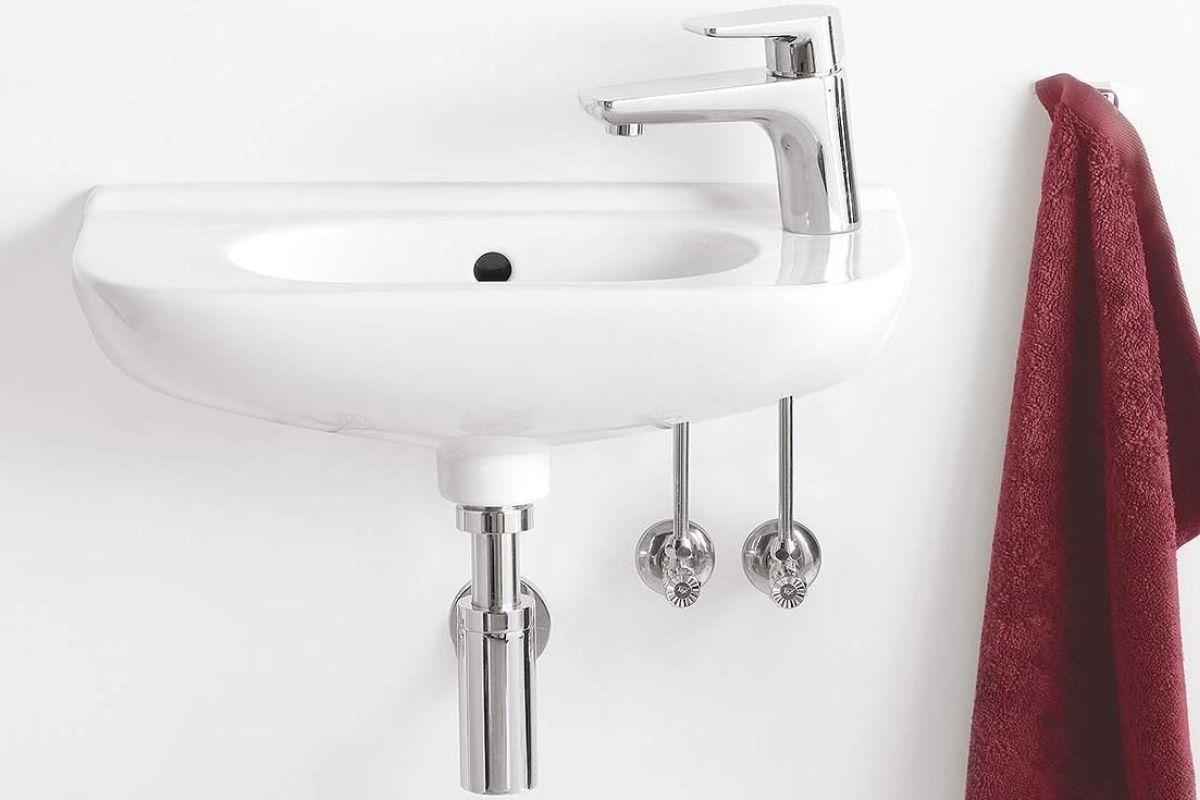 Le Lavabo De Type Lave Mains Pour Salle De Bain