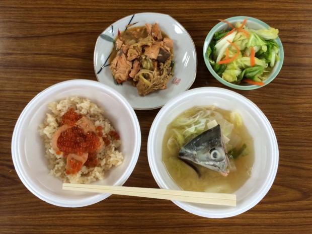 鮭を学んで、鮭の料理体験教室のご案内