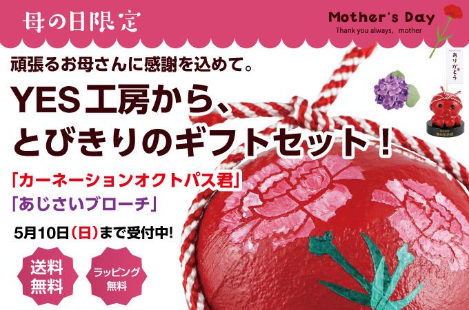 オクトパス君「母の日ギフトセット」!