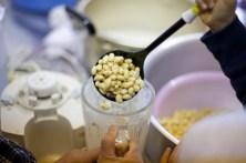 ふっくらツヤツヤの大豆を滑らかに。