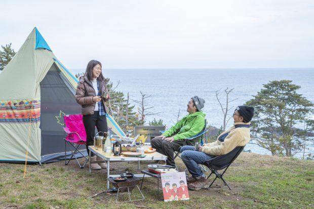\大自然の中で、手ぶらでも楽しめる/神割崎キャンプ場