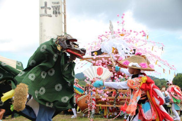 入谷の祭りと打囃子(2018年)