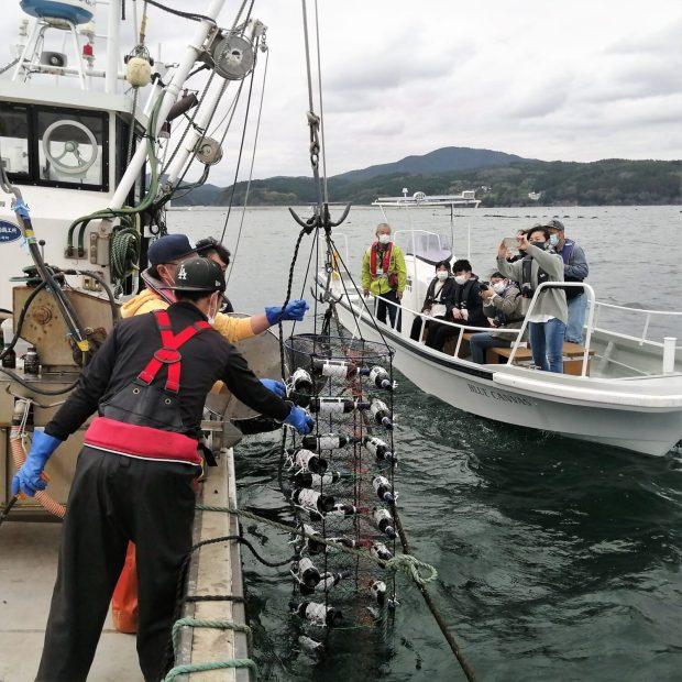 海中熟成ワイン体験参加者募集中