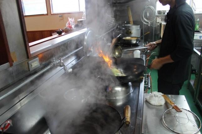 料理時照片