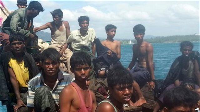 rohingya ppl at thai