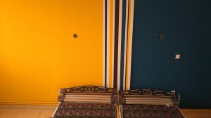 Mise en peinture d'une chambre parentale sur Arras