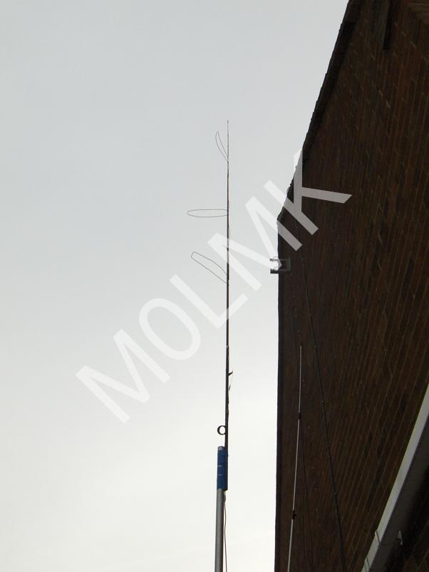 Simple stacked J-pole for 2M & 70cm – M0LMK
