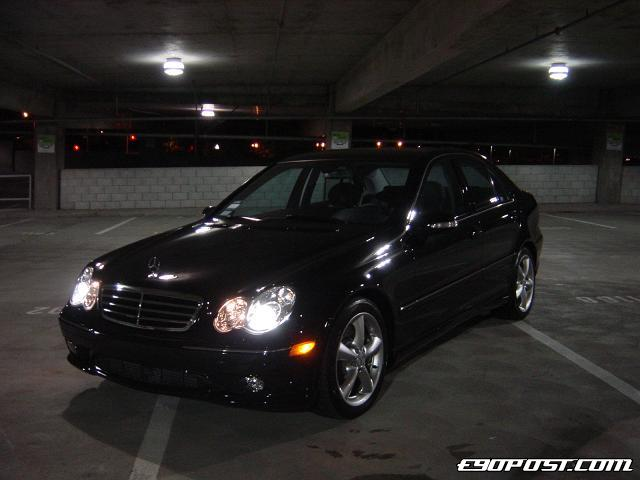 LWLs 2005 Mercedes Benz C230 Kompressor BIMMERPOST Garage